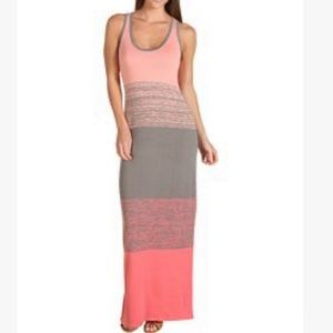 Trina Turk Bahama Mama Color Block Maxi Dress